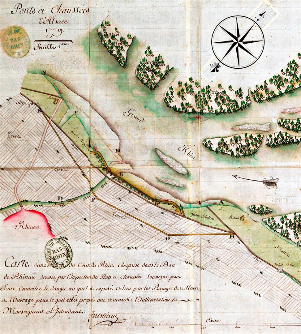 Carte Inondation Alsace.Inondations Archives Departementales Du Bas Rhin